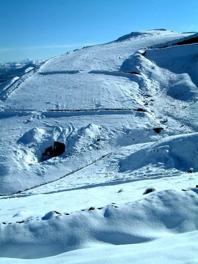 Snow melt will test the erosion controls