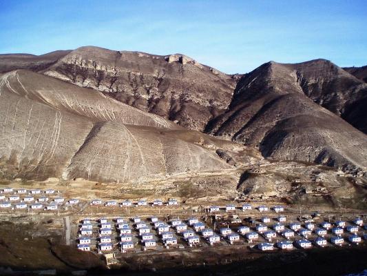 refugee camp from Azerbaijan Armenia Nagorno-Karabakh conflict