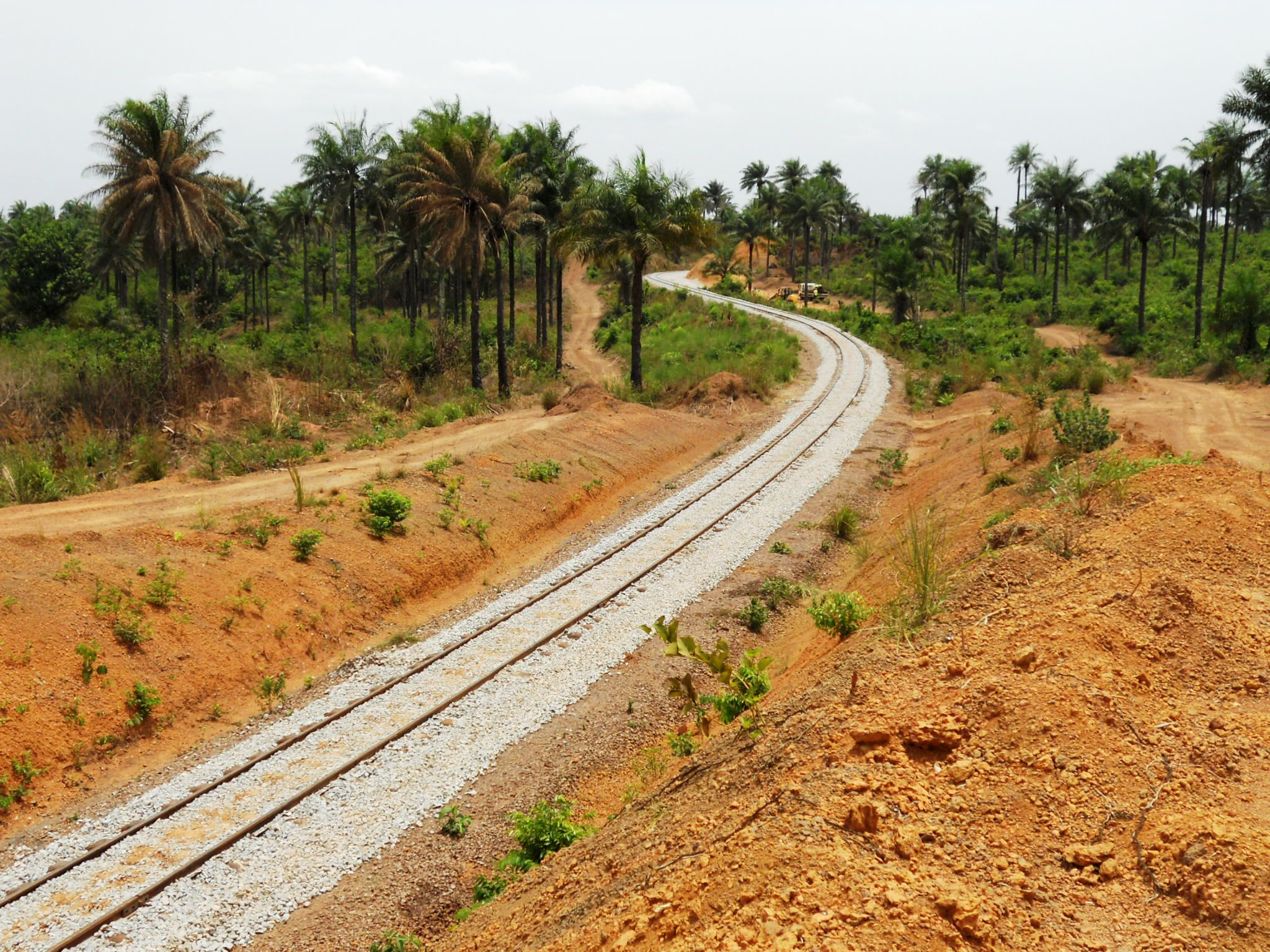 New rail line, West AFrica