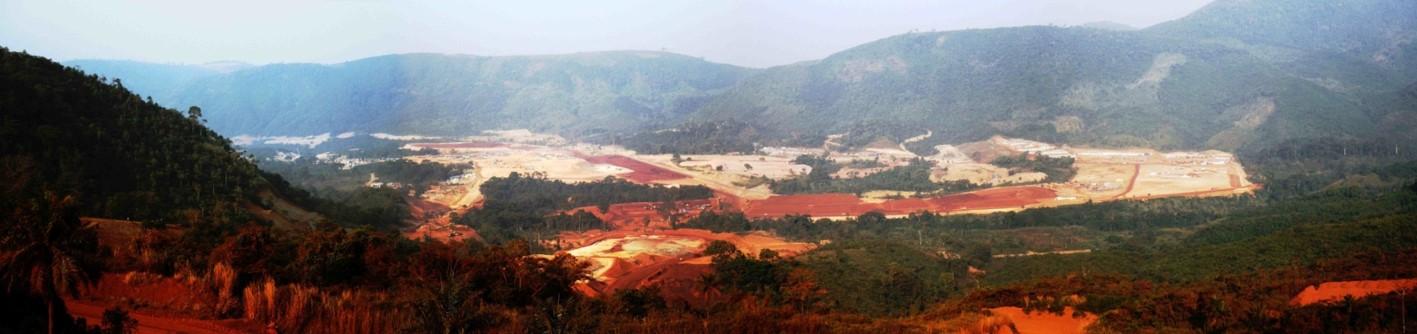 View over Iron Ore Mine