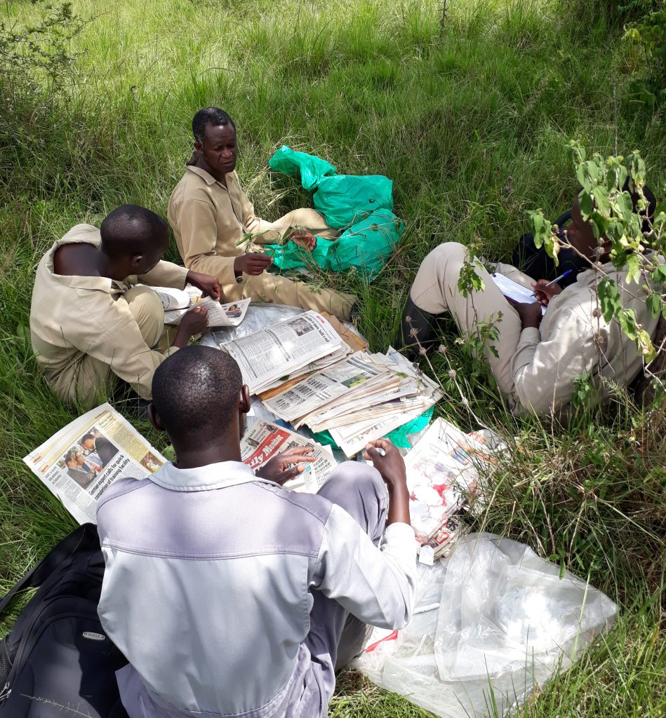 Botany surveys in Uganda