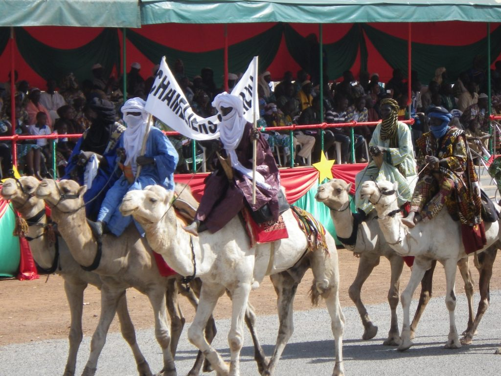 Tuareg tribesmen