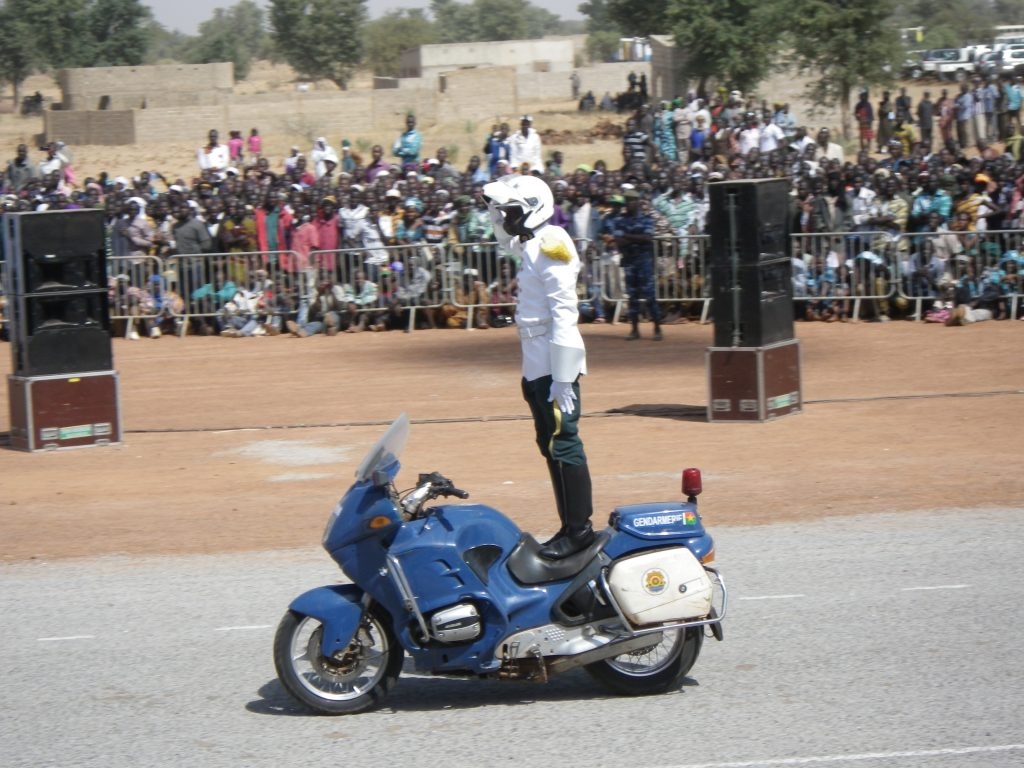 Burkinabe police