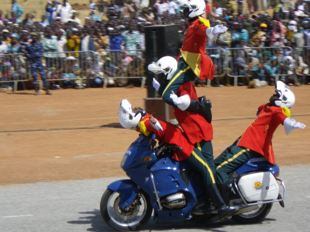 Burkina Faso police best in class