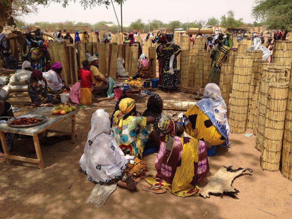 Markoye market Burkina Faso