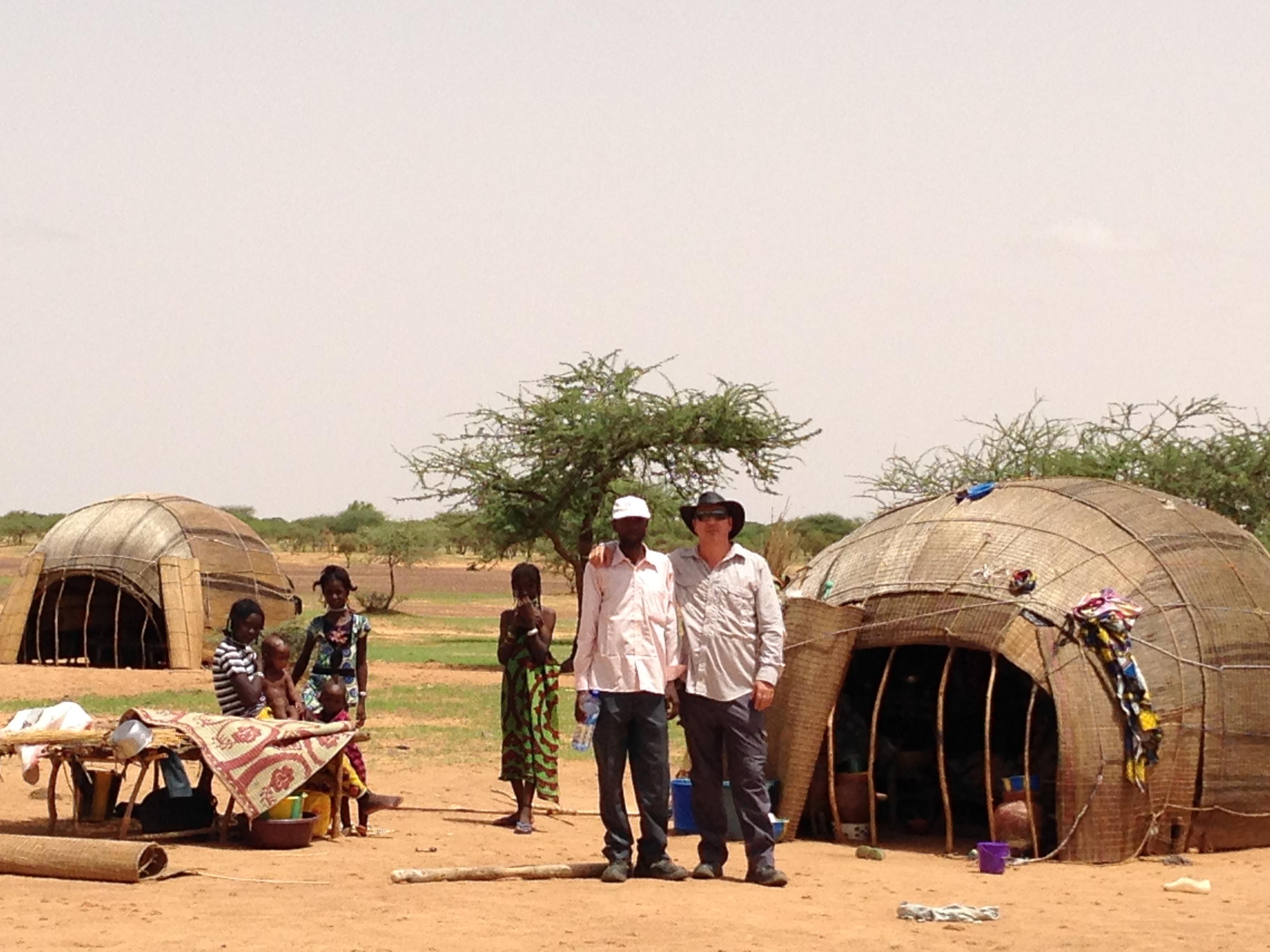 Andy undertaking resettlement planning
