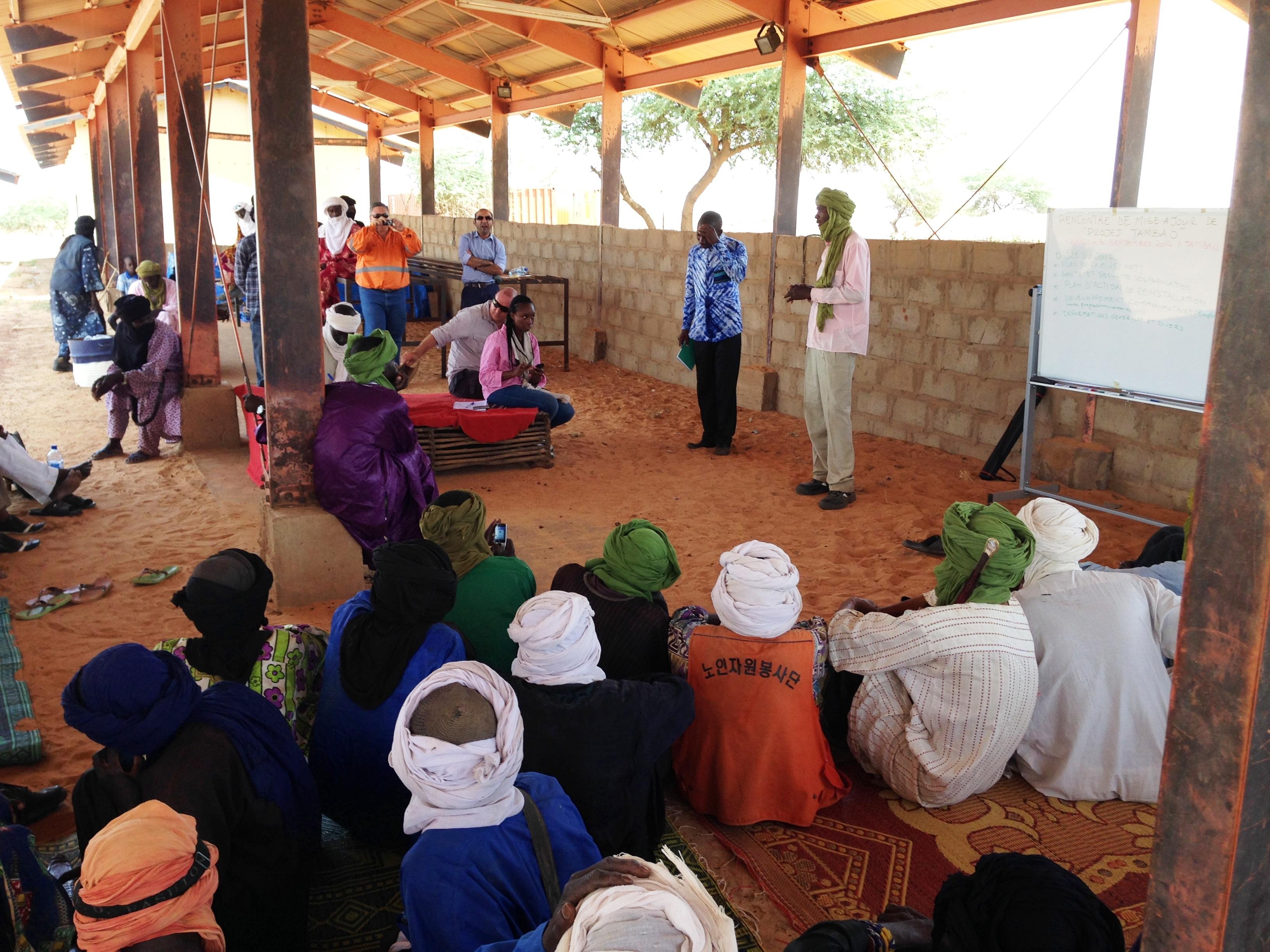 Community Meeting Sahel