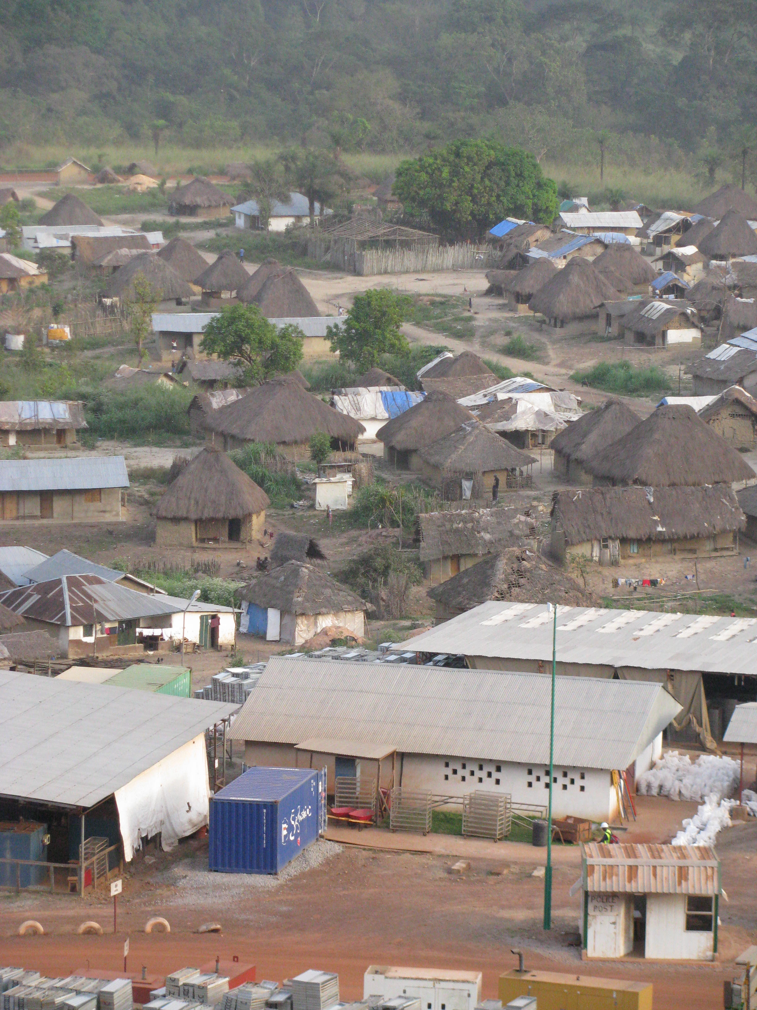 Village allowed to grow before resettlement
